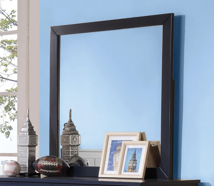 Zachary Mirror - Navy Blue