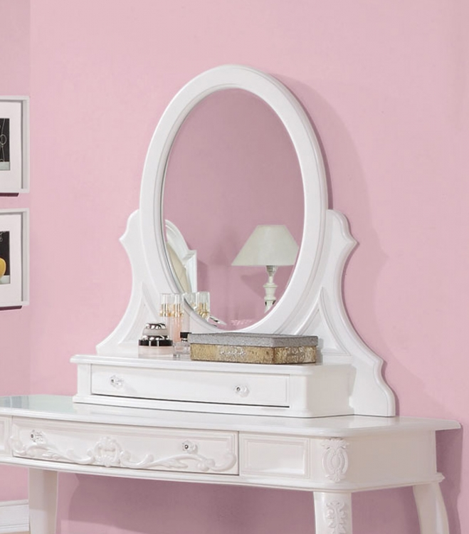 Caroline Vanity Mirror - White