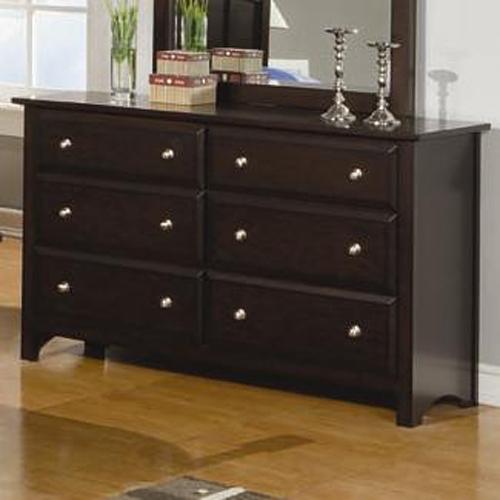 Jasper 6 Drawer Dresser