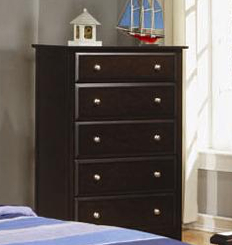 Jasper Tall Chest With 5 Drawers - Coaster