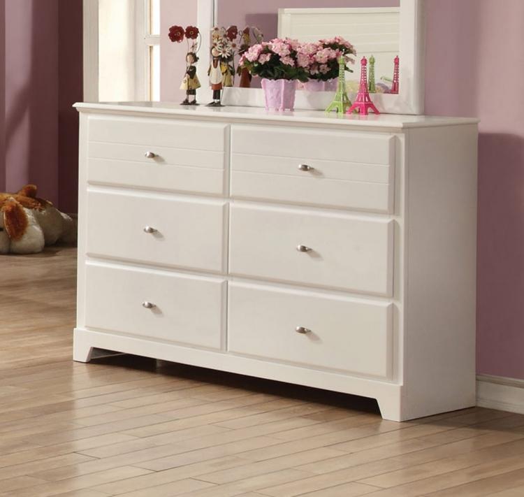 Ashton Dresser - White