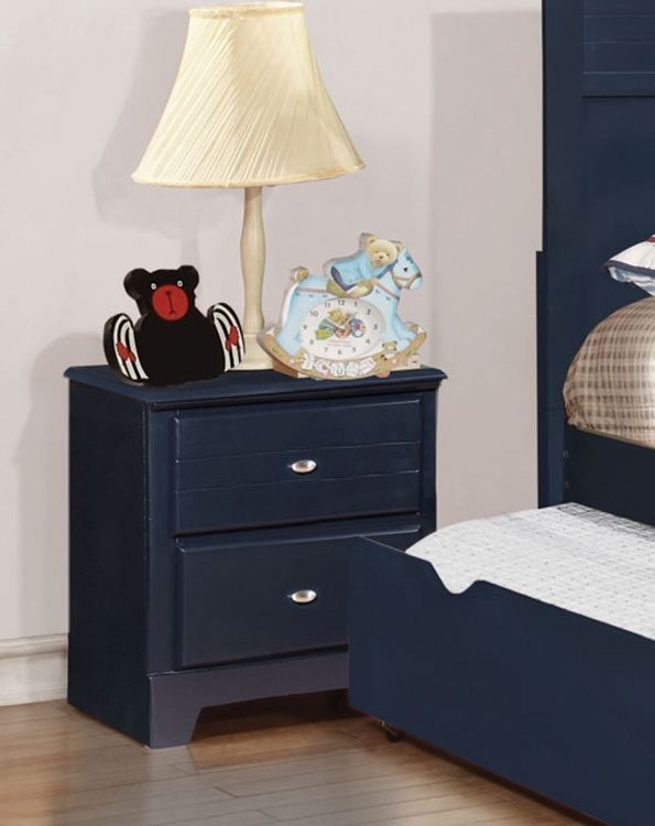 Ashton Night stand - Navy