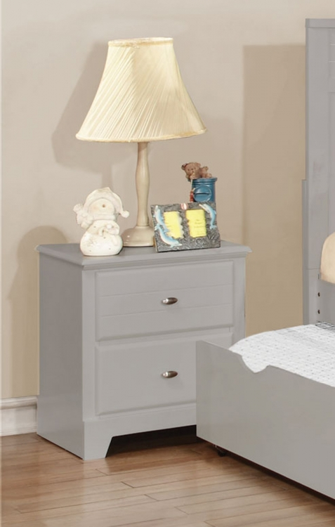 Ashton Night stand - Grey