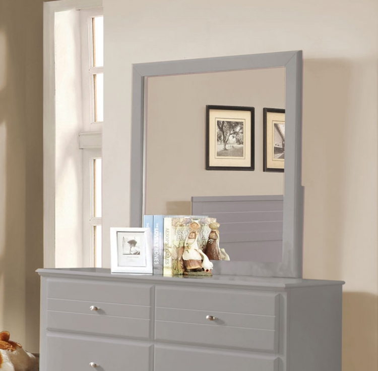 Ashton Mirror - Grey