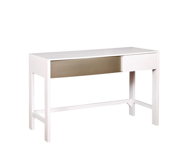 Havering Desk - Blanco/Sterling