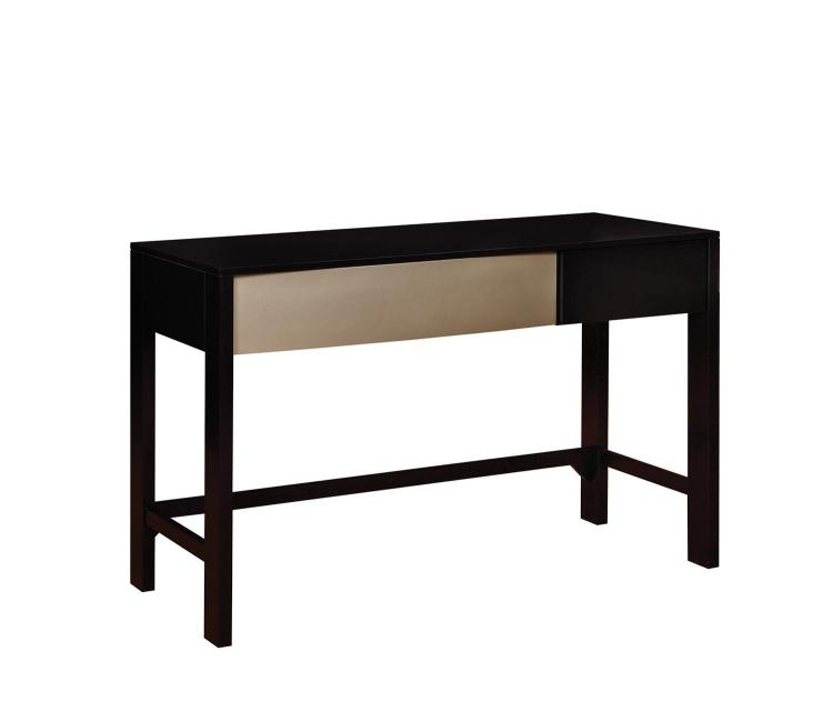 Havering Desk - Black/Sterling