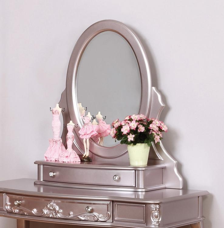 Caroline Vanity Mirror - Metallic Lilac