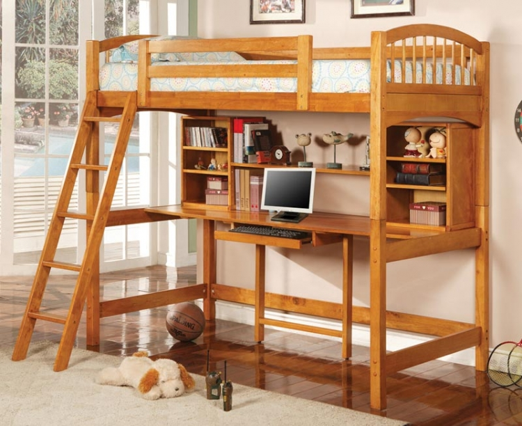 460053 Work Station Bunk Bed