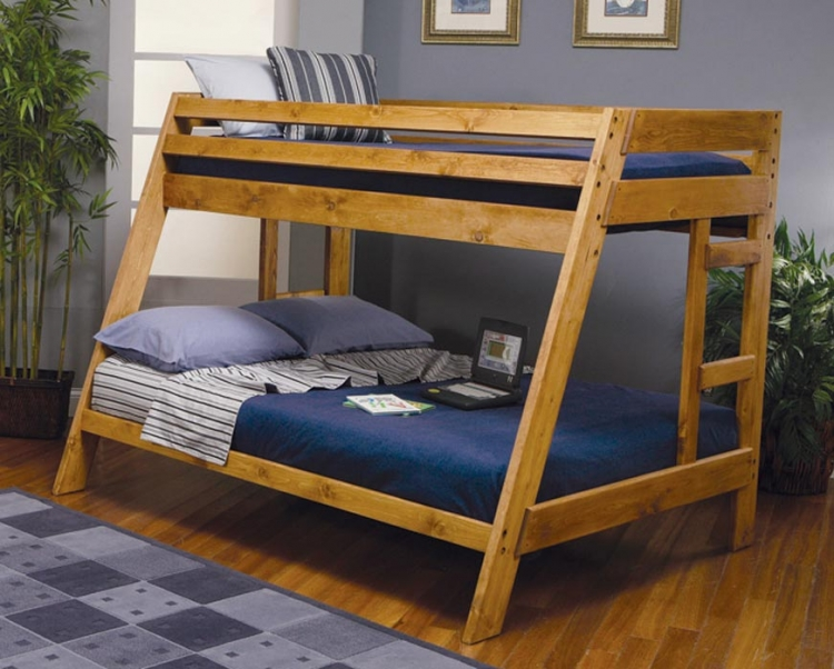 Wrangle Hill Twin-Full Bunk Bed