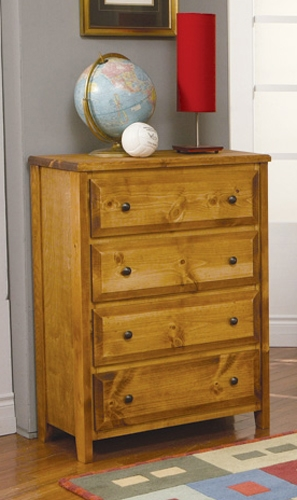 Wrangle Hill 4 Drawer Chest - Coaster