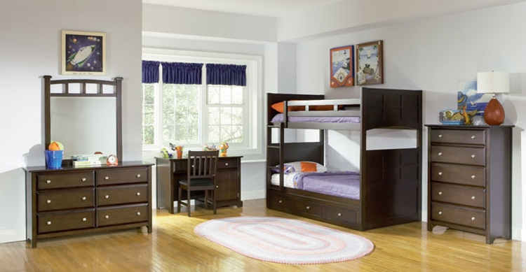 Jasper Youth Bunk Bed Set - Coaster