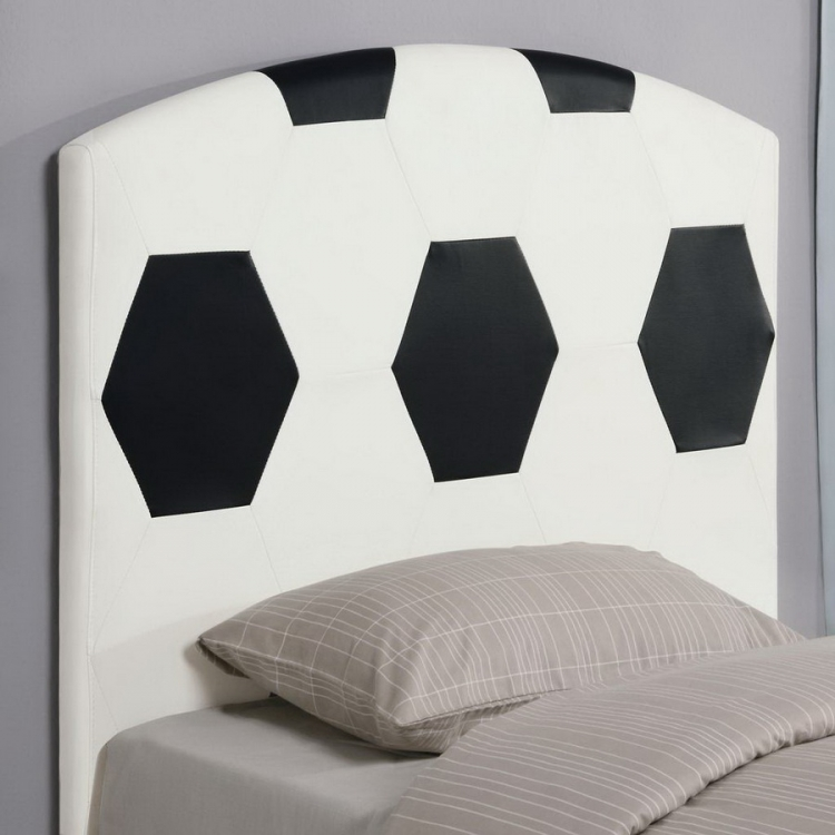 460168 Soccer Ball Headboard