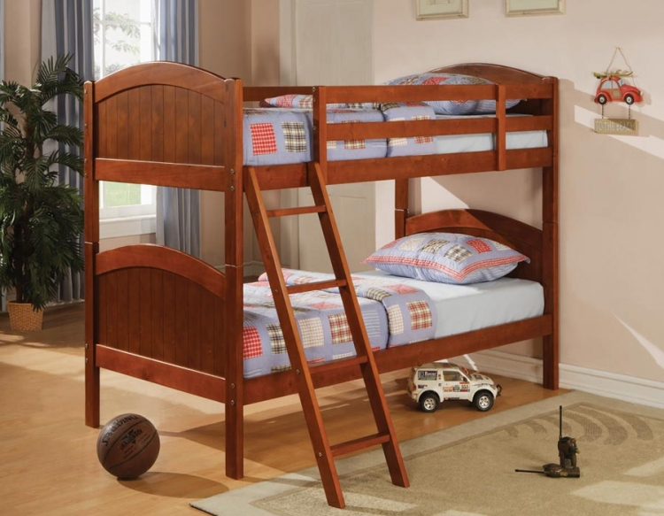 460203 Twin Bunk Bed - Coaster