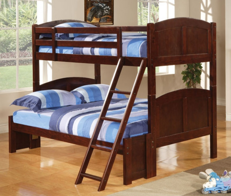 460212 Twin-Full Bunk Bed - Coaster
