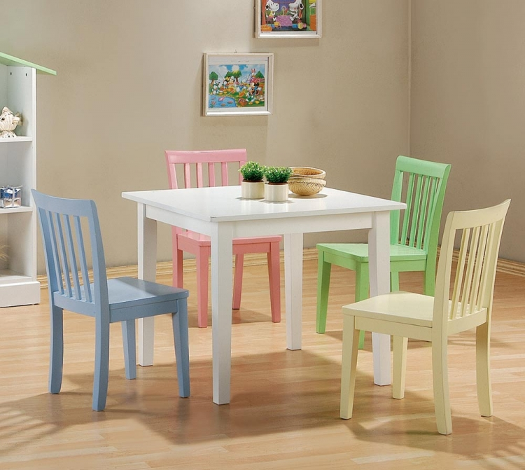 460235 5pc Table Set - Coaster