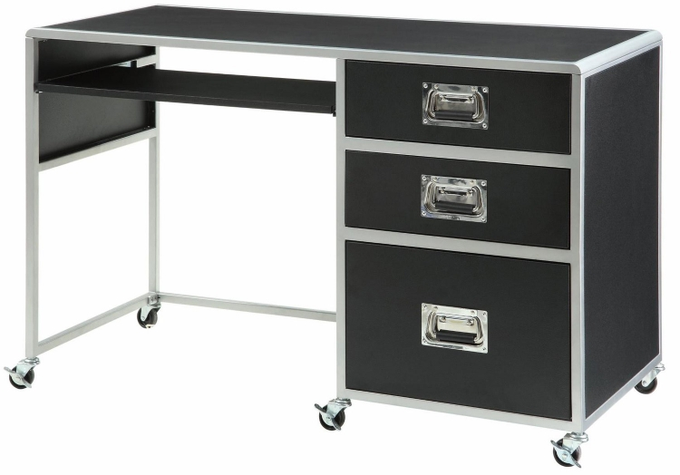 Leclair Computer Desk - Black