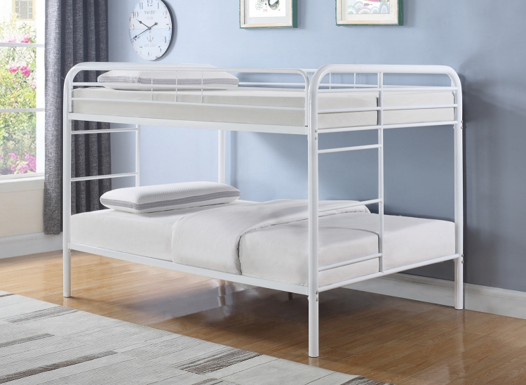 Morgan Full/Full Size Bunk Bed - White
