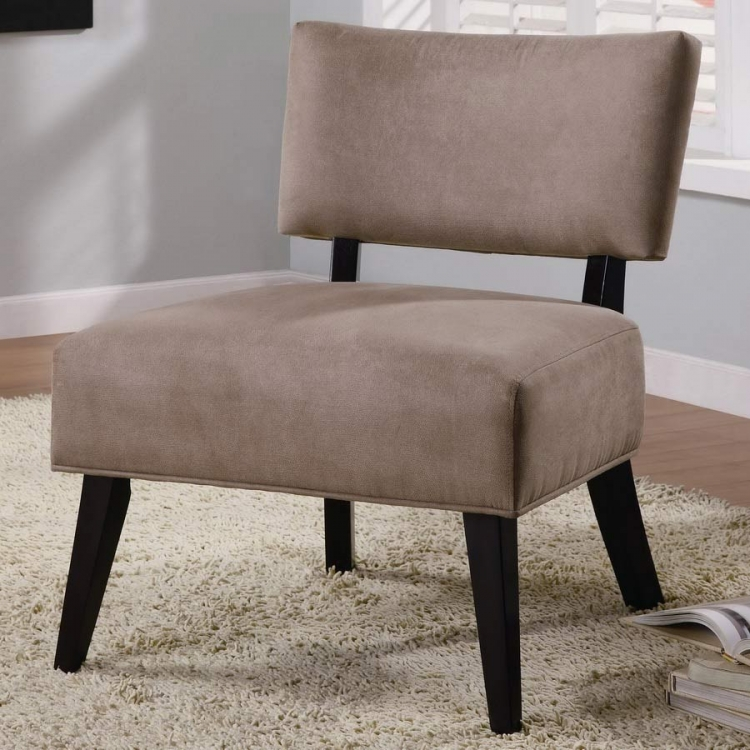 460502 Accent Chair - Light Brown - Coaster