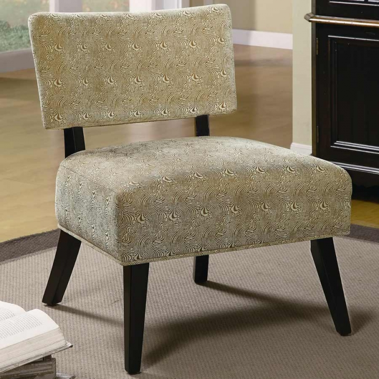 460504 Accent Chair - Brown Swirl - Coaster