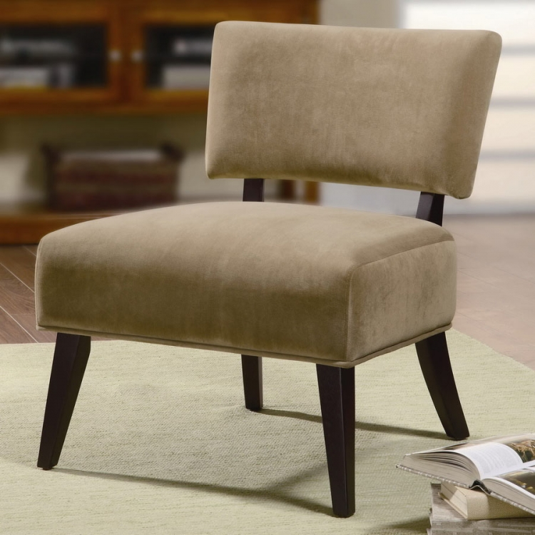 460508 Accent Chair - Tan - Coaster