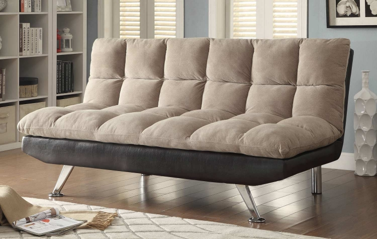 500045 Sofa Bed - Beige/Black