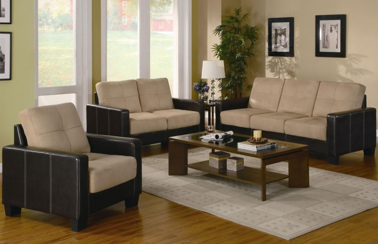 Regatta 3 Piece Living Room Set - Coaster