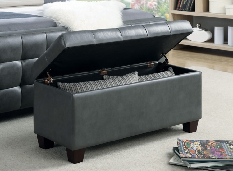 500127 Storage Bench - Grey