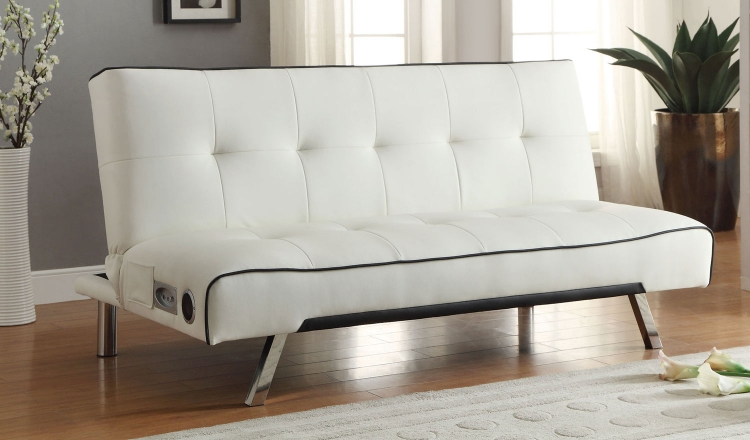500138 Sofa Bed - White