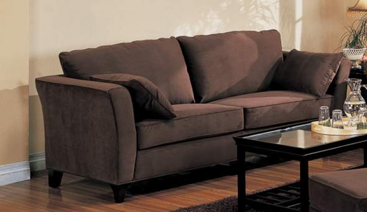 Park Place Sofa - Chocolate