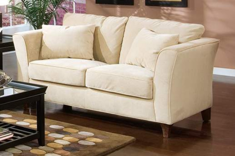 Park Place Love Seat - Cream