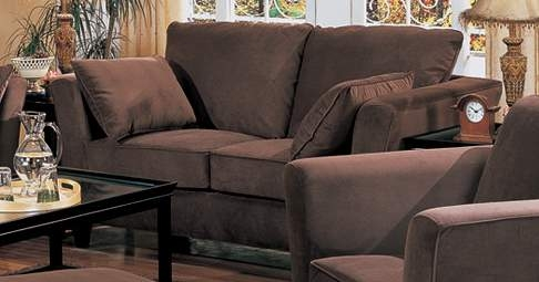 Park Place Love Seat - Chocolate