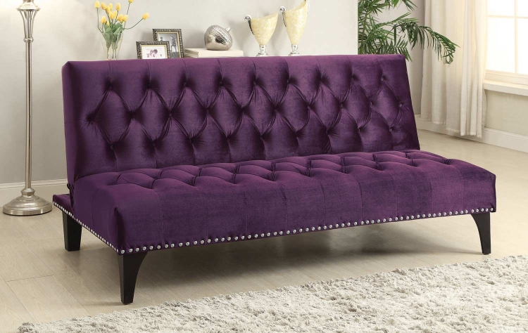 500235 Sofa Bed - Purple