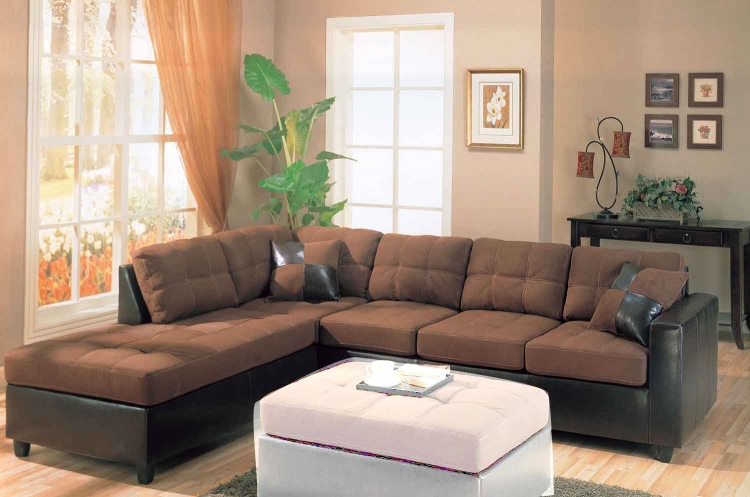 Harlow Sectional - Chocolate - Coaster