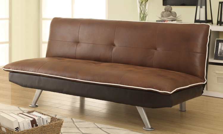 500752 Sofa Bed - Brown/Chocolate