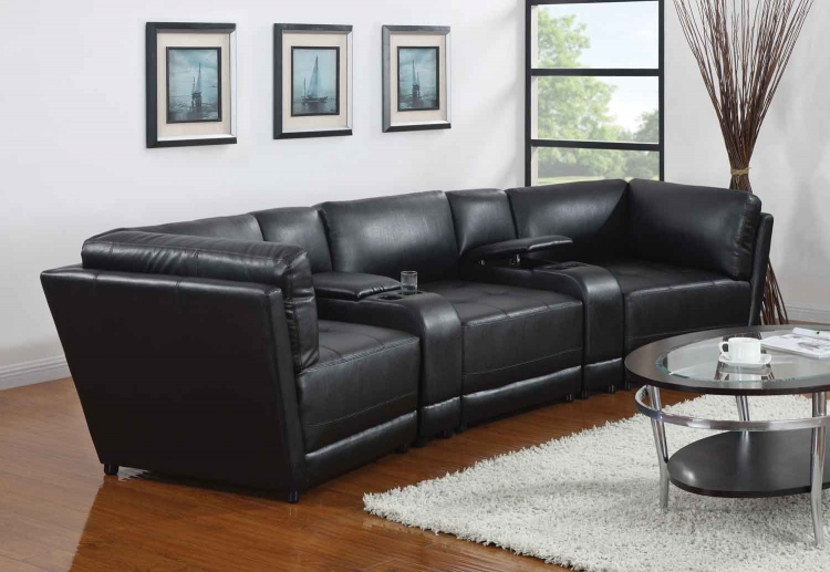 Kayson Living Room Set - Black