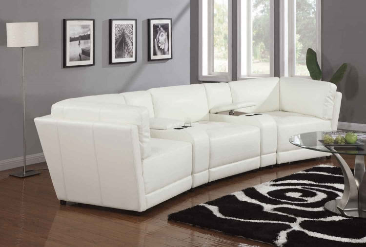 Kayson Living Room Set - White - Coaster