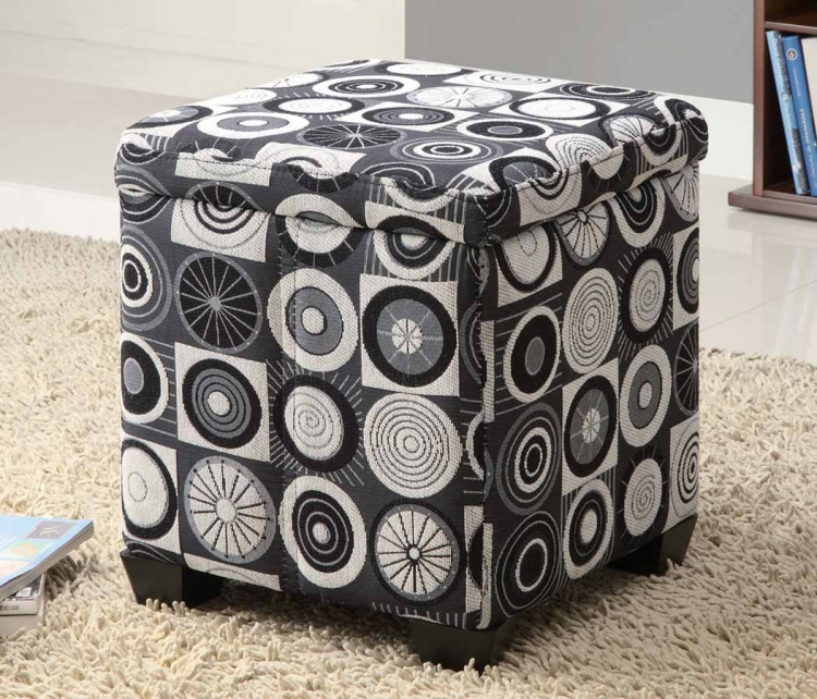 50108X Storage Ottoman - Rotundity - Coaster