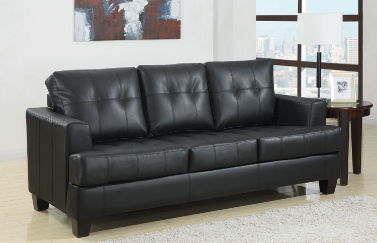 Samuel Sleeper Sofa - Black - Coaster