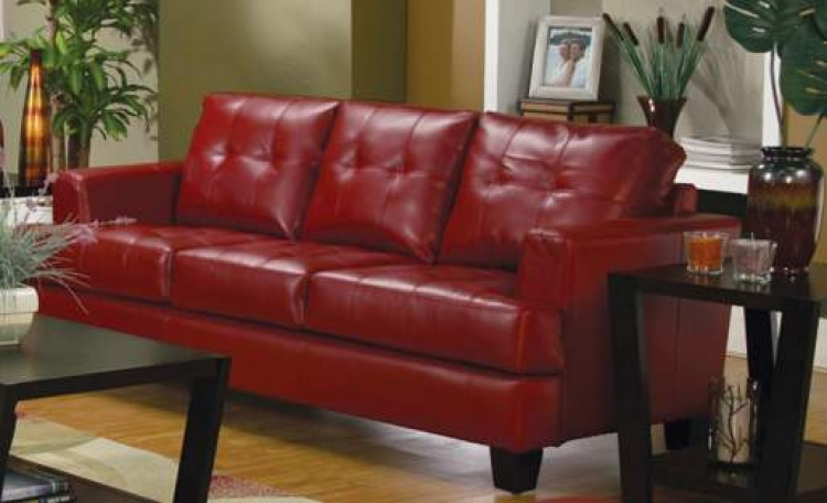 Samuel Sofa - Red - Coaster