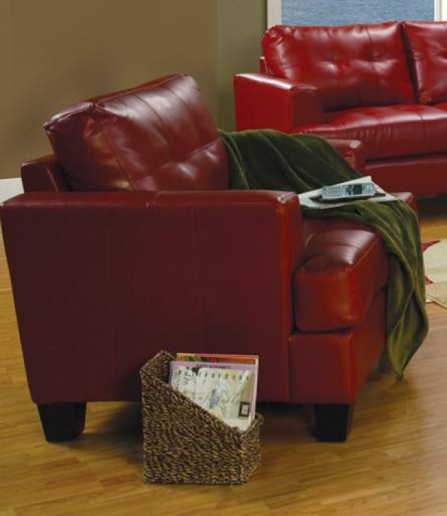 Samuel Chair - Red - Coaster