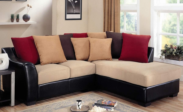 Lily Chaise Sectional - Carmel