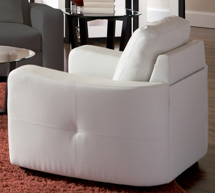 Jasmine Chair - White - Coaster