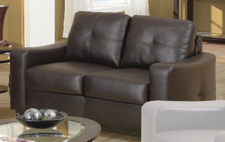 Jasmine Love Seat - Brown - Coaster