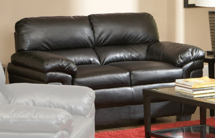 Fenmore Love Seat - Dark Brown - Coaster
