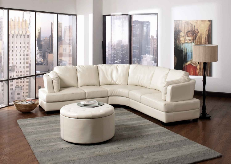 Landen Living Room Set - Cream - Coaster