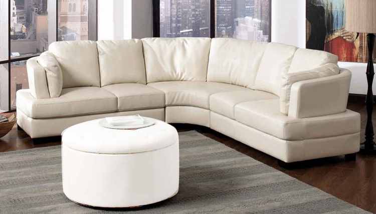 Landen Sectional - Cream - Coaster