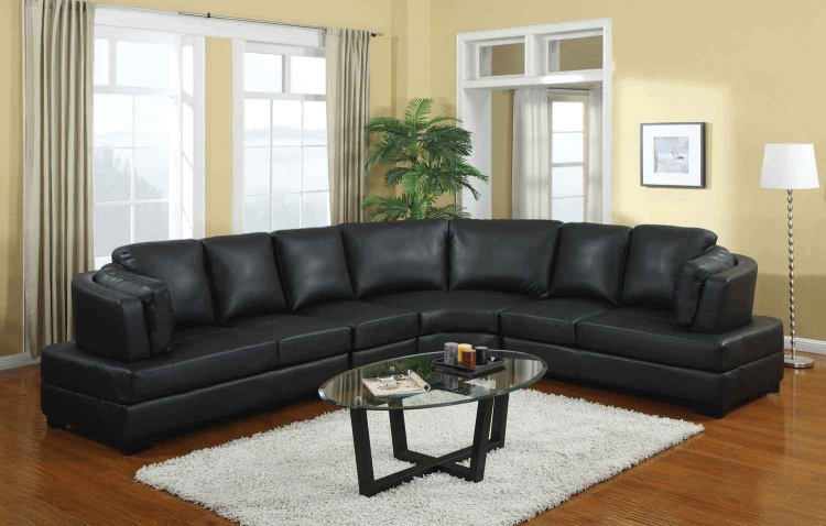 Landen Sectional - Black - Coaster