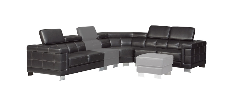 Ralston Sectional Sofa - Black