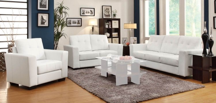 Enright Sofa Set - Black
