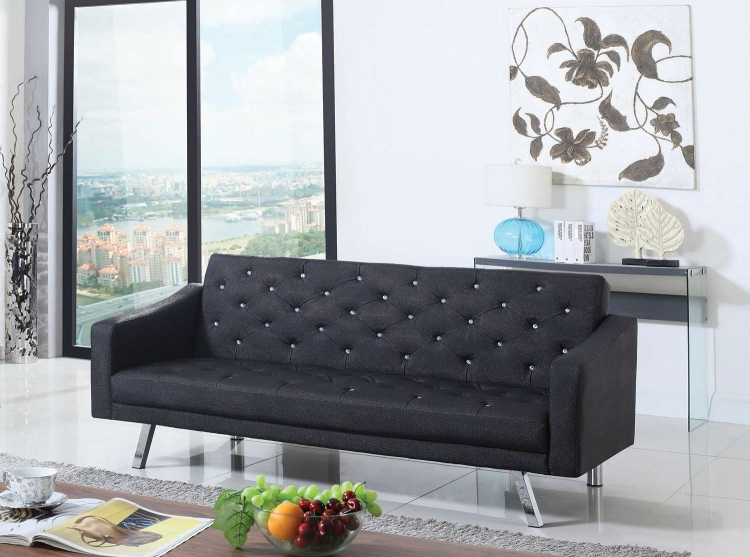 503898 Sofa Bed - Black